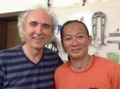 34. Mr. Xi with John Doan