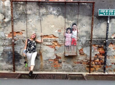 5.5 Deirdra Painted Wall Penang, Malaysia John Doan