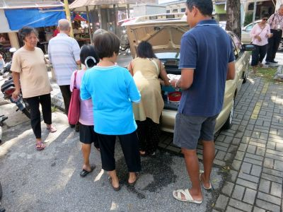 9. Penang, Malaysia tail gate food John Doan