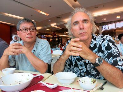Joshua Tan and John Doan Thoughtful