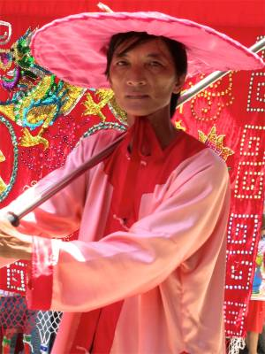82. Phan Theit Parade Pink Hat