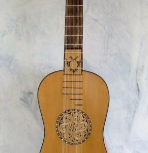 Baroque Guitar Michelutti 1