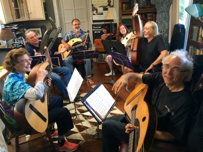 17. John Doan's Harp Guitar Retreat Final Class