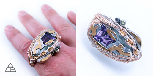 Custom Ring Designs With Gemstones From John Dyer Gems