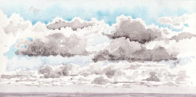 The North Sea, Dawn.