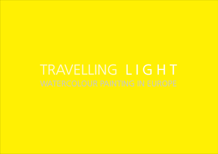 Travelling Light - ident for an exhibition at the Reader Gallery, Calderstones Feb 2017