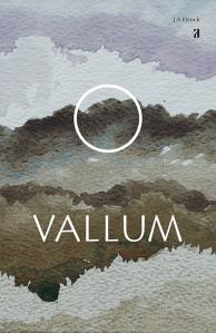 Vallum, poetry book jacket