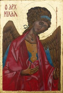 Archangel Michael Rublev copy (2018)
