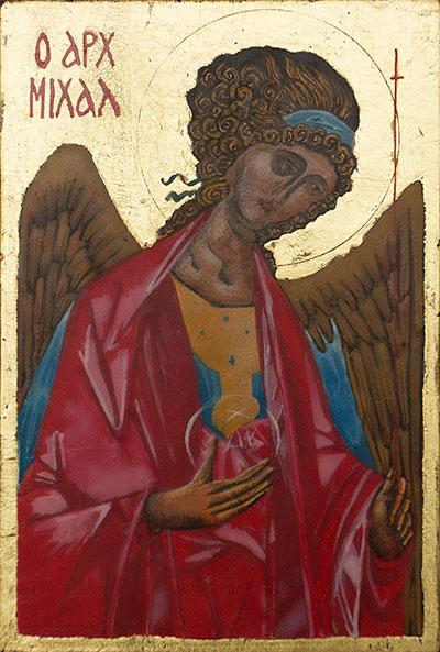 Archangel Michael Rublev copy (2018)