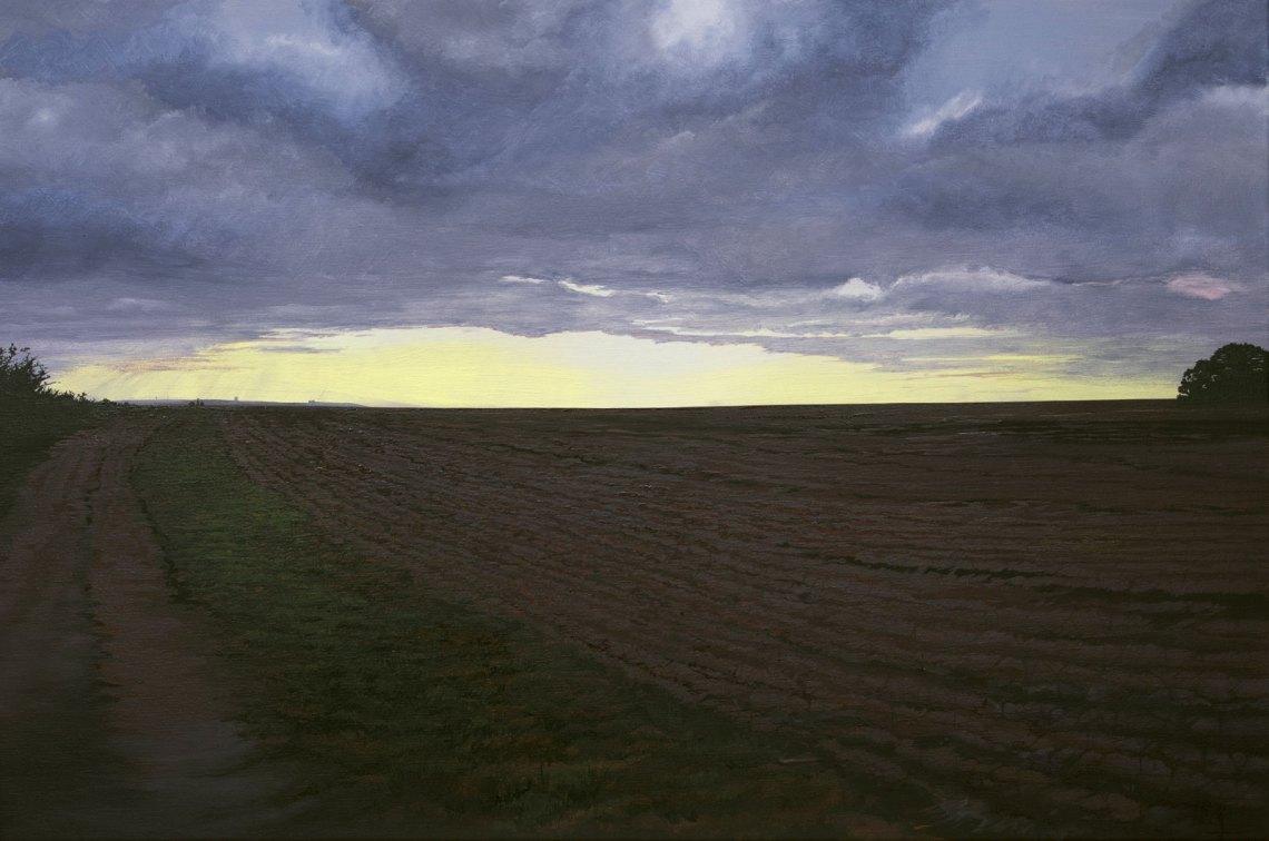 Phos Hilaron - Hail Joyful Light: a painting by J A Elcock (2018)