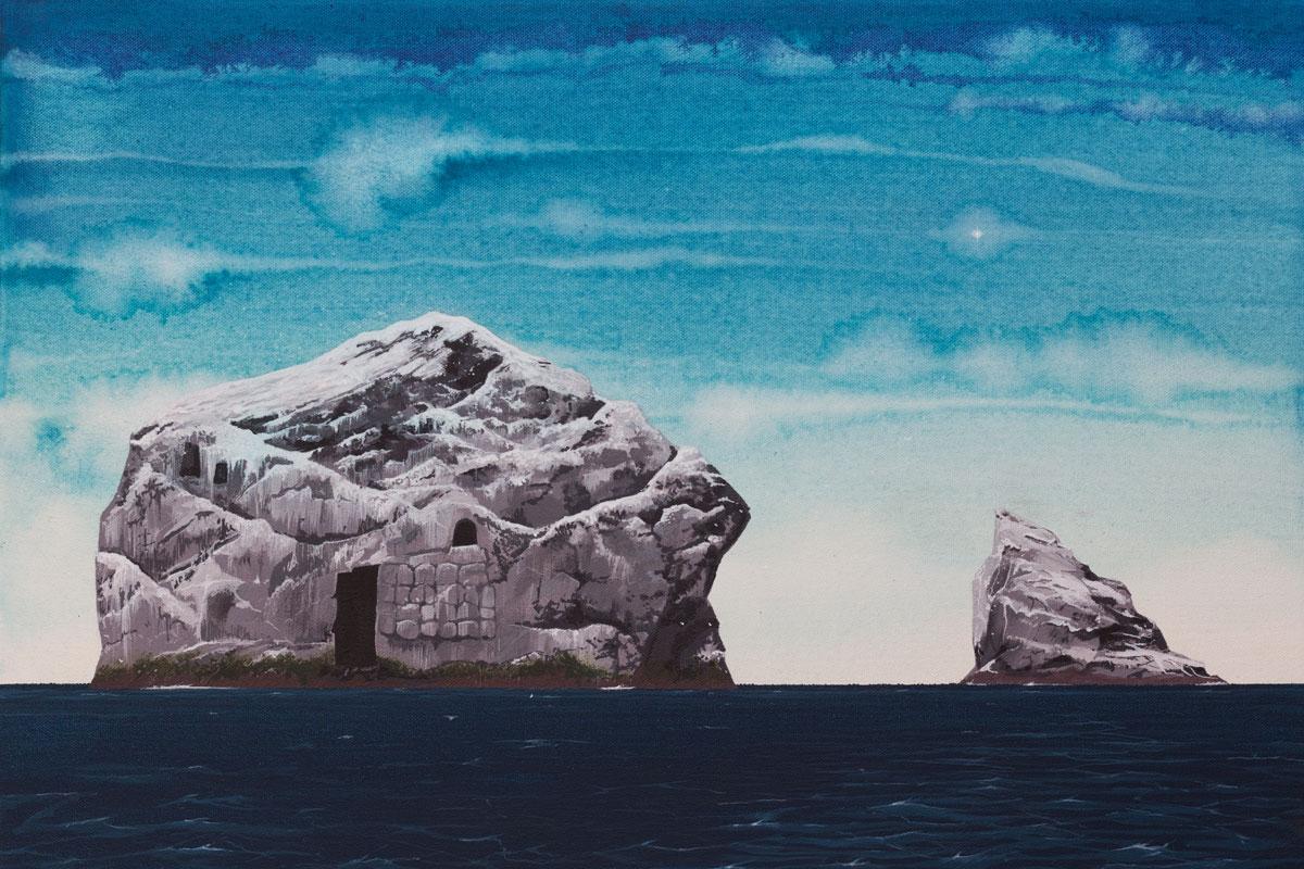 Painting of St Kilda