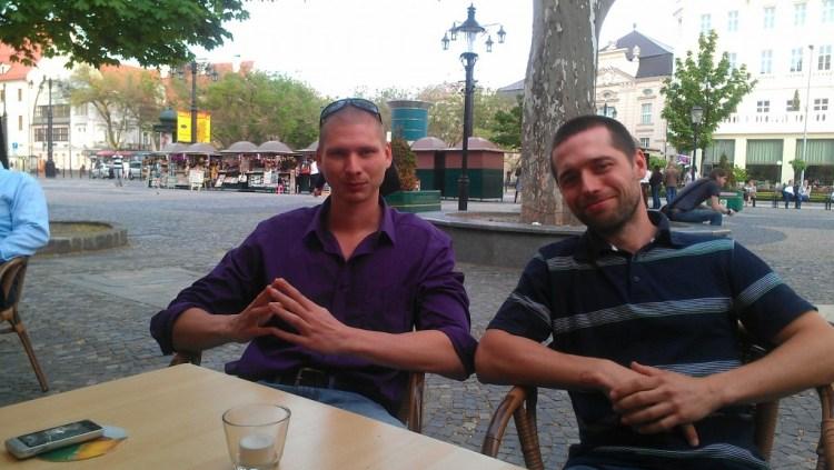Michal Vasilko and Pavol Kustar