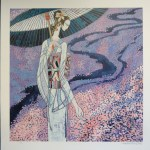 Cherry Blossoms by Ting Shao Kuang. Limited edition serigraph.