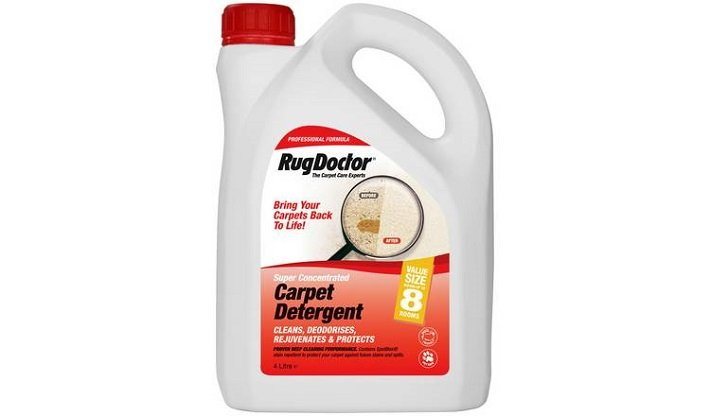 Detergent in a Carpet Cleaner