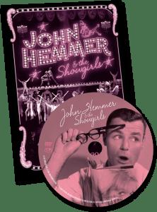 DVD cover for John Hemmer and the Showgirls