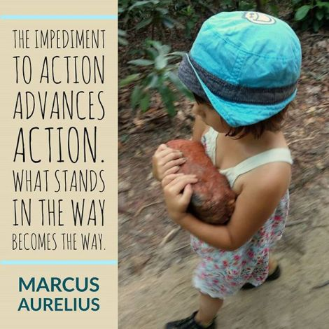 """I've been re reading meditations by Marcus Aurelius and have been sitting with this quote a bit.🧘♂️""""The impediment to action advances action. What stands in the way becomes the way.""""🚪It's definitely one that resonates with me as no matter how we plan our journey, life has a way of placing obstacles in our path.🚧We get to choose how to engage with them. It can motivate or deflate. I tend to take an obstacle as a challenge to prove I can overcome it, work around it, work with it, or pick it up and carry it along until I figure out what to do with it. It may prove to be useful after all.🛤️Also it's ok to just put it down and move on. There really are no rules to this thing. Just more what you might call guidelines"""