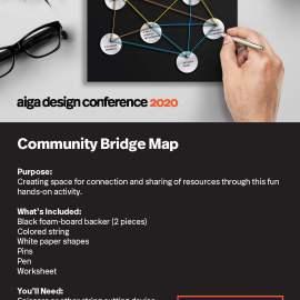 AIGA Design Conference Community Bridge Map