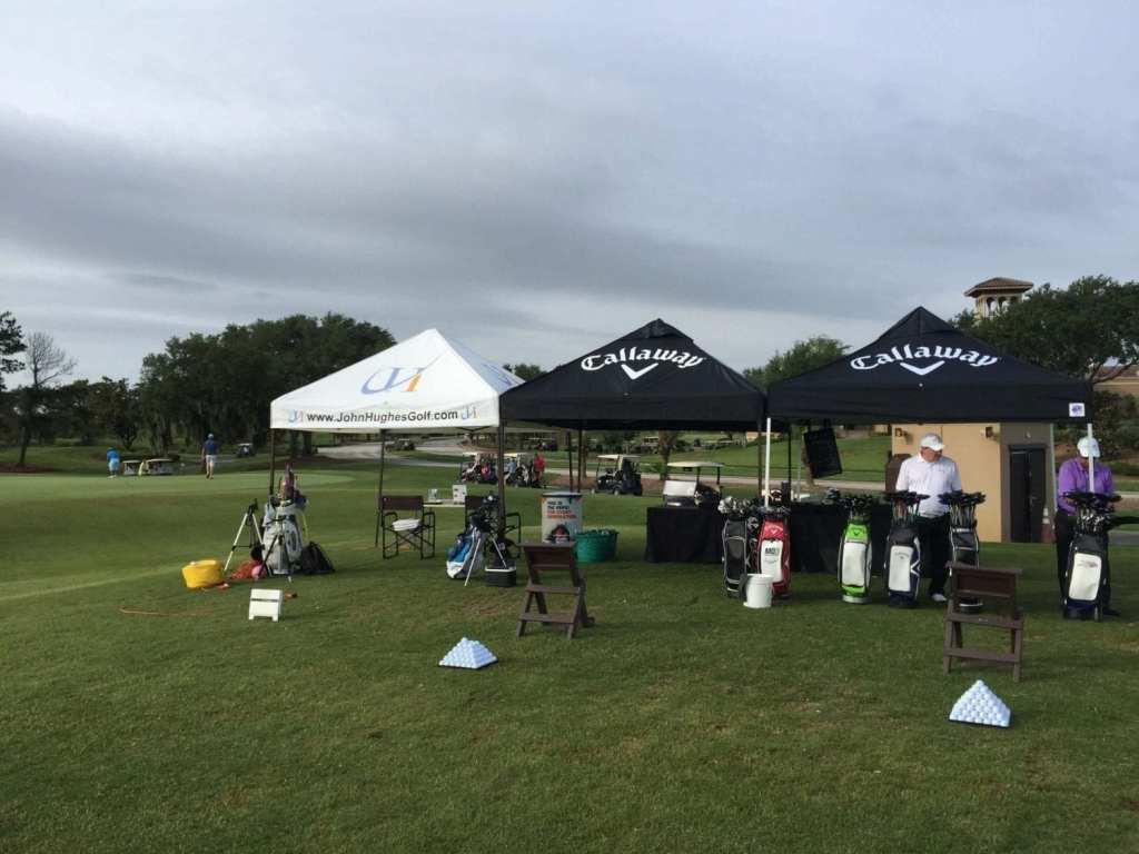 John Hughes Golf, Tent depicting Corporate Golf Outings and Charity Golf Events, Orlando Golf Tournaments, Florida Golf Tournaments, Corporate Golf Tournaments, Charity Golf Tournaments, Golf Lessons in Orlando, Golf Schools in Orlando