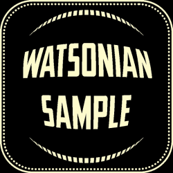 Text: Watsonian Sample
