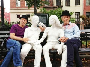 George Segal's Gay Liberation statues