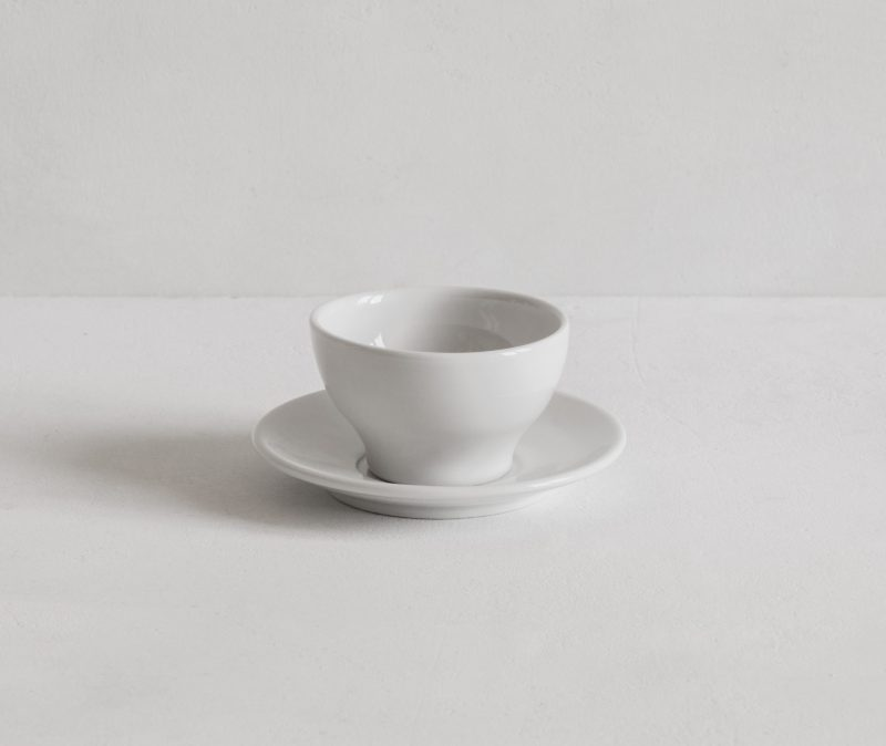 Classical Espresso Cup and Saucer No Handle