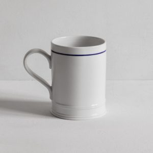 Classical Mug with a blue line