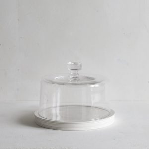 Classical Platform serving plate with Dome