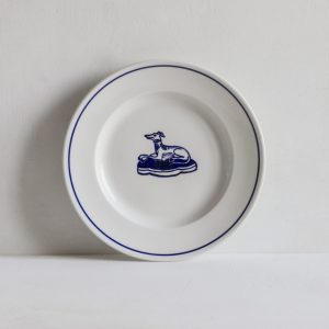 Classical Side Plate with Hound
