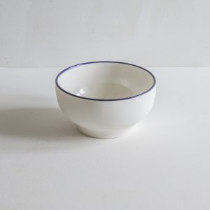 Simple Bowl with a blue rim