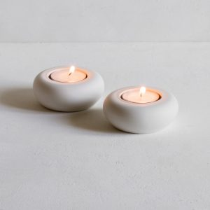 Simple Porcelain Tea Lights