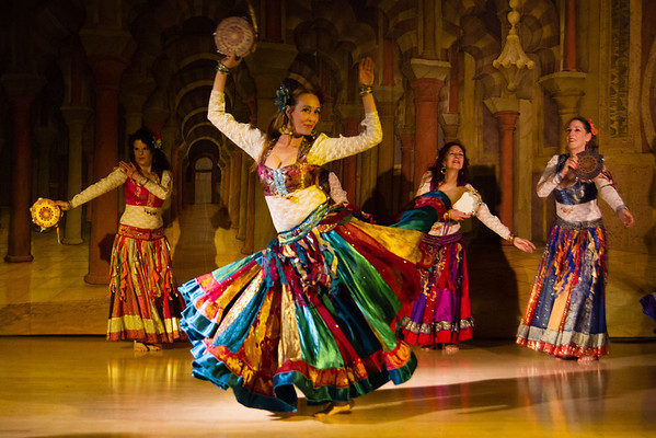 San Rafael based bellydance troupe performs in competition