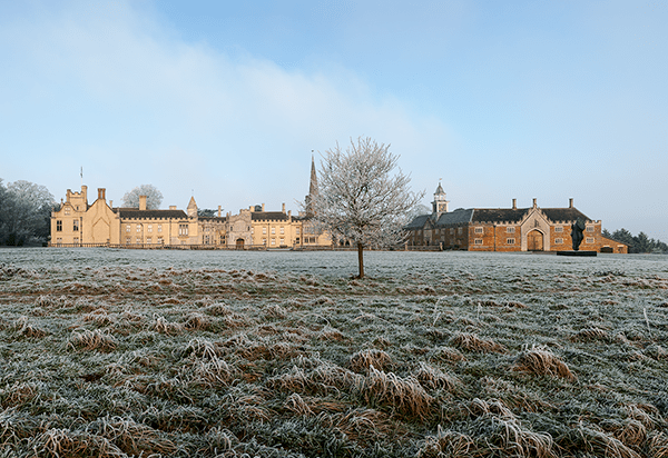 church, english, henry, cold ross, view, boxing day, frosty, winters, david ross, carphone warehouse, village stock, manor houses