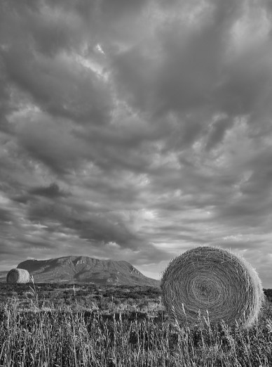 hay bales 3 w sleeping giant