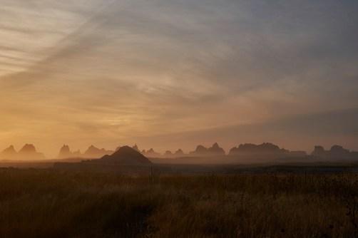 badlands mist color