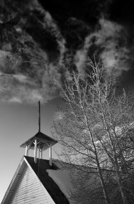 moonhill steeple and trees no 2