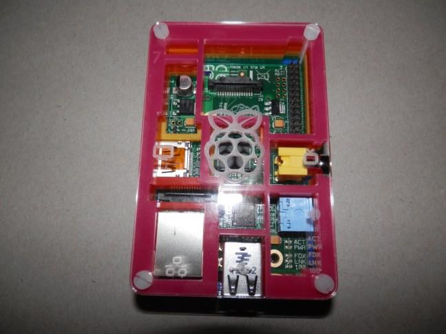 Raspberry Pi With Pimoroni Pibow case