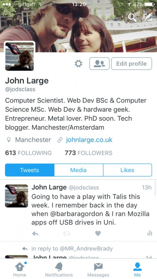 My Social Media Account