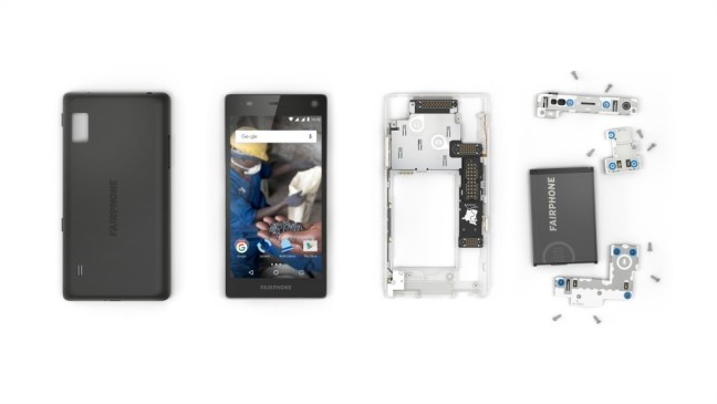 Fairphone 2 - Fully repairable & open