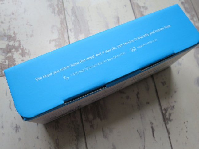 Anker Power Core 20100 packaging