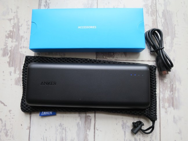 Anker Power Core 20100 & packaging
