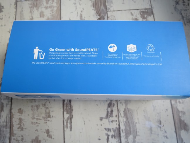 SoundPEATS P4 packaging