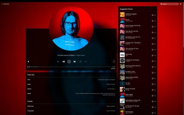 Tidal Desktop Spinning Disc GUITidal Desktop Spinning Disc GUI