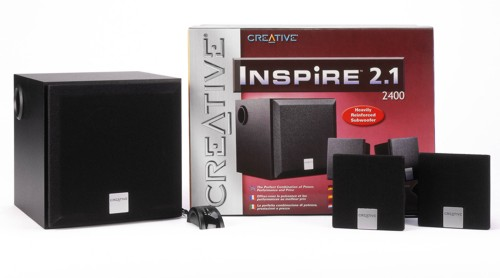 Creative Inspire 2400 2.1 Speakers