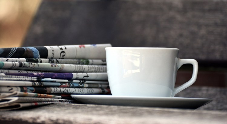 Newspaper & Coffee