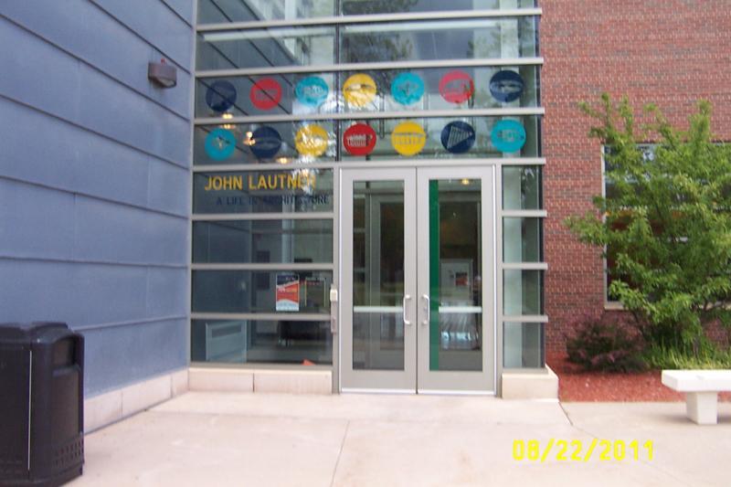 Entrance to DeVos Art Museum