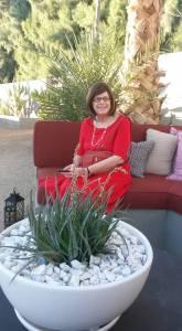 Karol at an event at the Hotel Lautner in Desert Hot Springs.