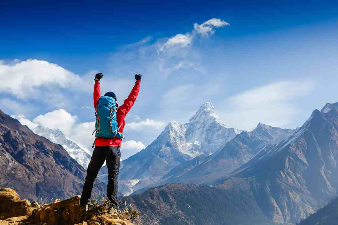 Your addiction recovery case study will higlight this mans journey as he reaches the top of the peak during his journey for recovery.