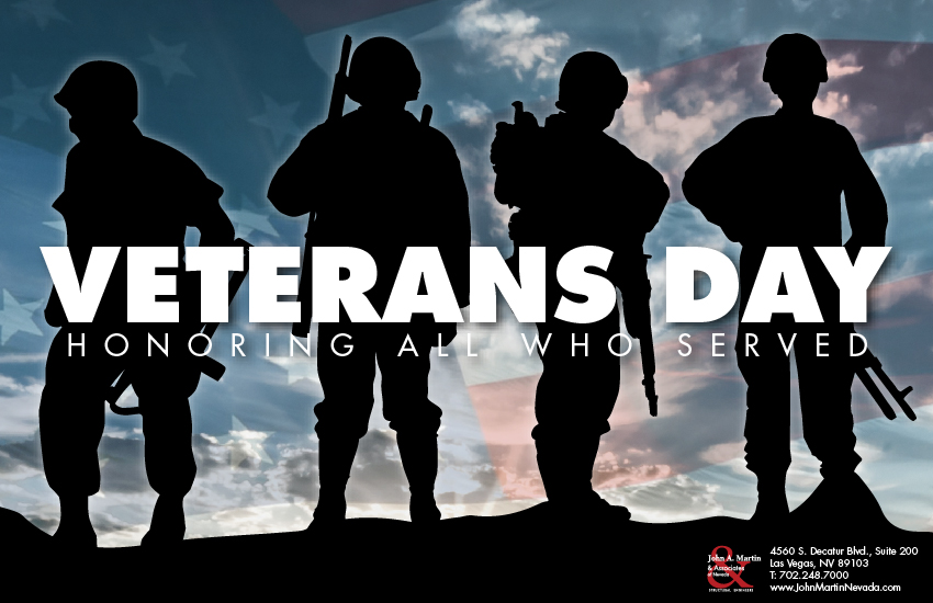 John A. Martin & Associates of Nevada - Veterans Day