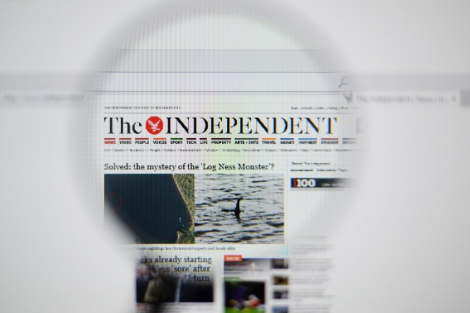 The Independent is now only online