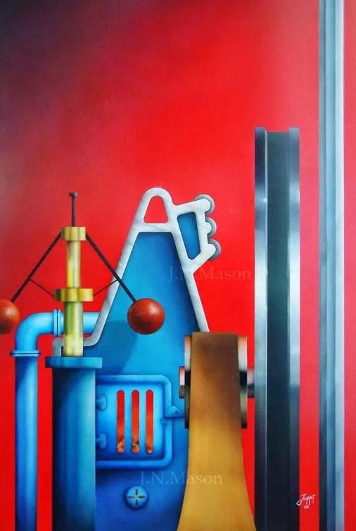 Machinery painting